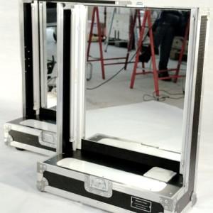 Flycase - 2 glaces de maquillage